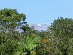 Snow-capped Mauna Kea