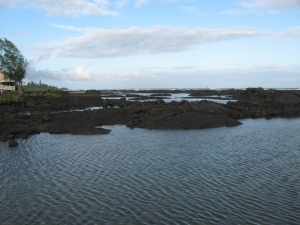 Calm waters of Wai O'pae marine protected tide pools