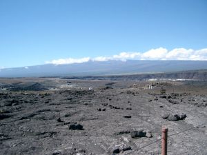 Mauna Loa from Volcanoes National Park