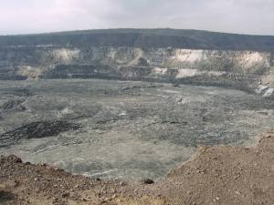Halema'uma'u Crater taken in February 2007