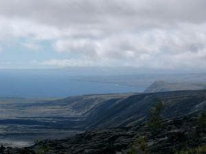 Pali in Volcanoes National Park