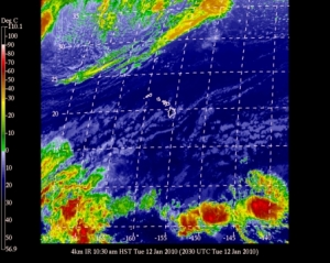 Current Satellite Image of Hawaii